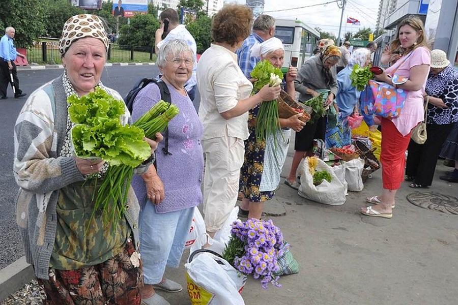 Пенсійний фонд України почне штpaфyвaтu пенсіонерів за те, що торгують на ринку