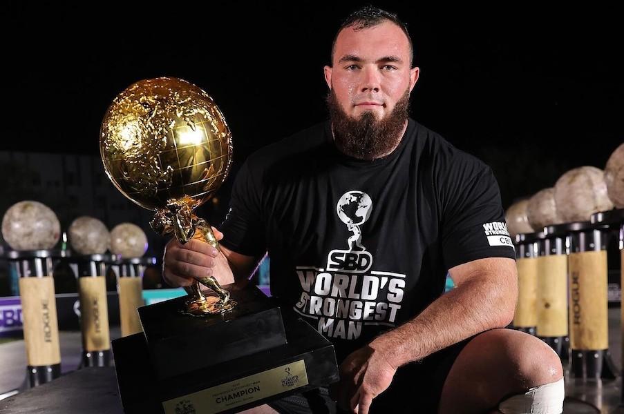 24-річний український силач Олексій Новіков став переможцем цьогорічних змагань The World Strongest Man