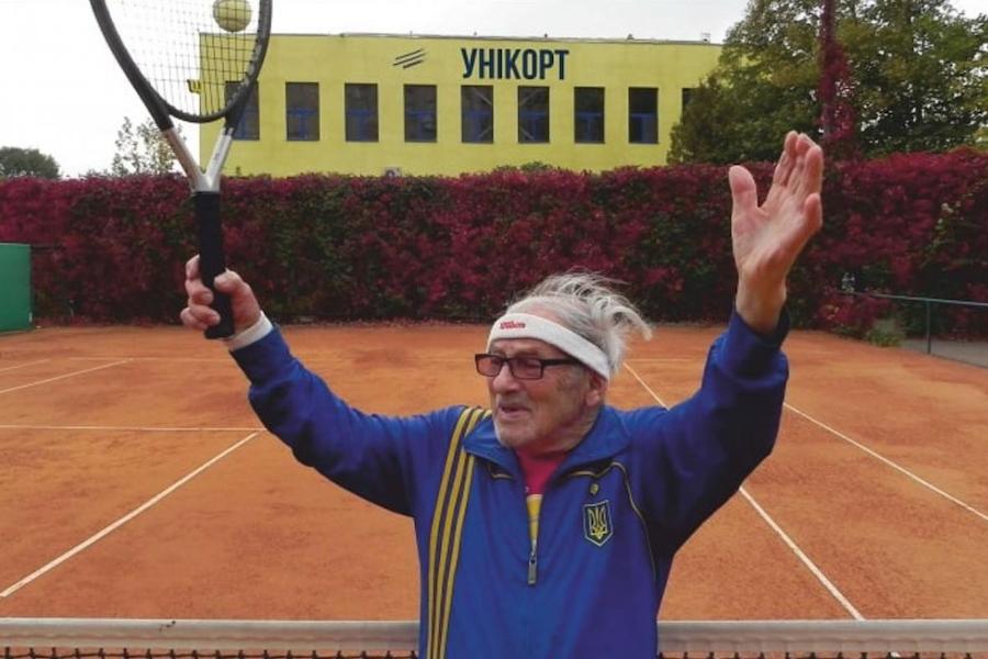 Харків'янин, який потрапив у Книгу рекордів Гіннеса, дякує за кожен новий день і не втрачає надії зіграти з Федерером